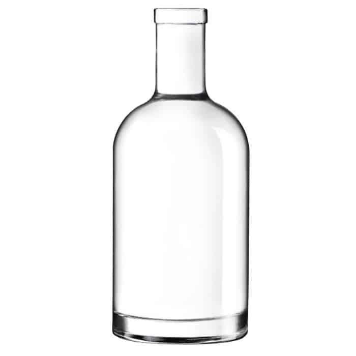 Flasche vorher...